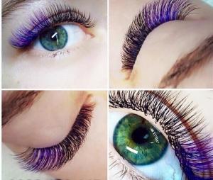 Colored Eyelashes Photo Album - Lotki